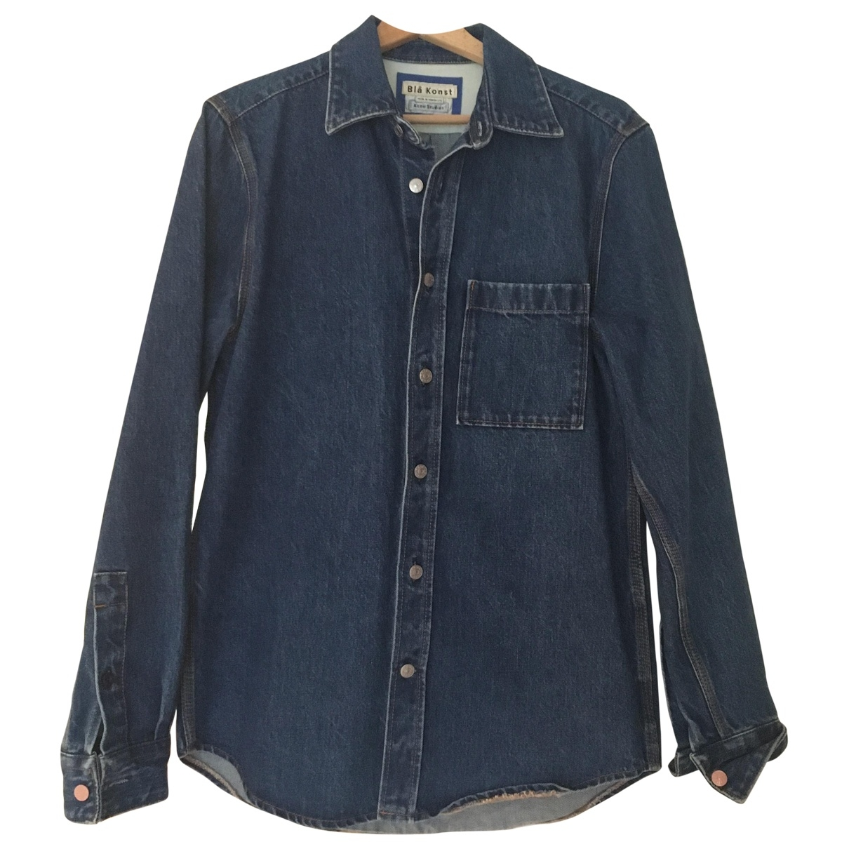 Acne Studios \N Navy Denim - Jeans Shirts for Men S International