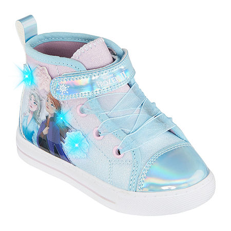 Disney Collection Frozen Toddler Girls Sneakers, 8 Medium, Blue