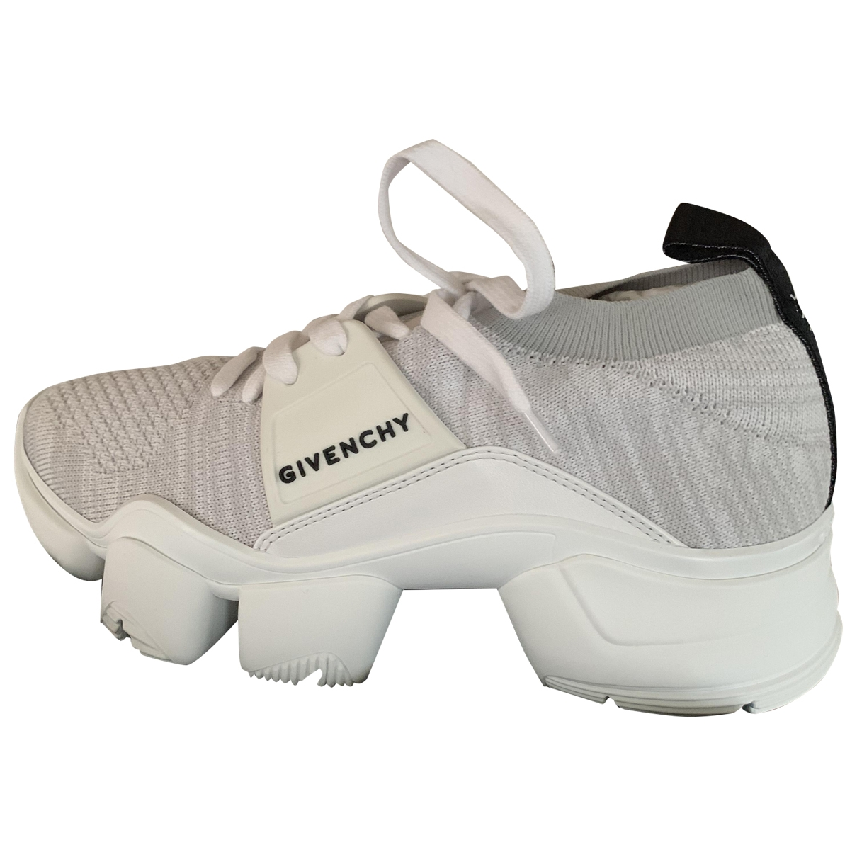 Givenchy Jaw White Cloth Trainers for Women 37 EU