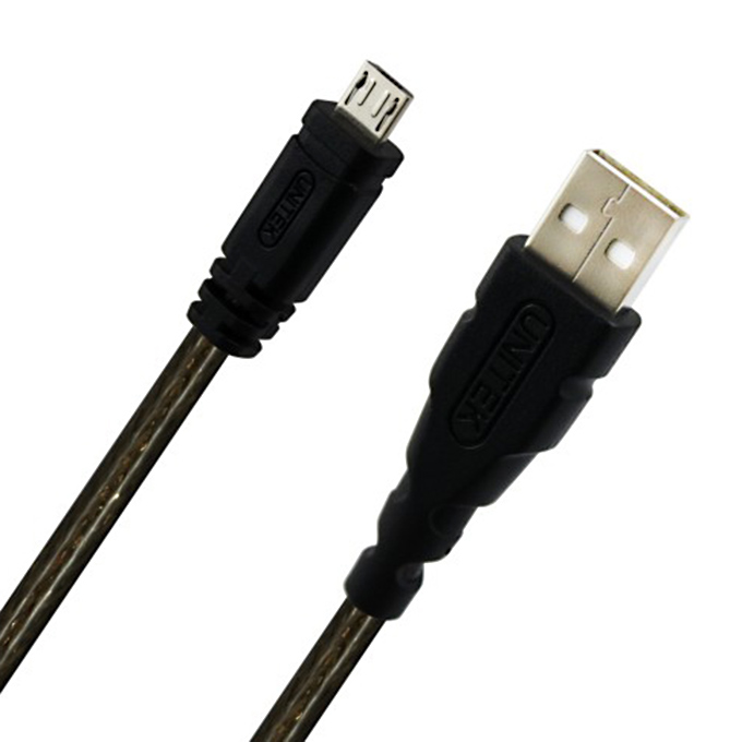UNITEK Y-C434 USB2.0 A Male to Micro USB Male Charging Cable