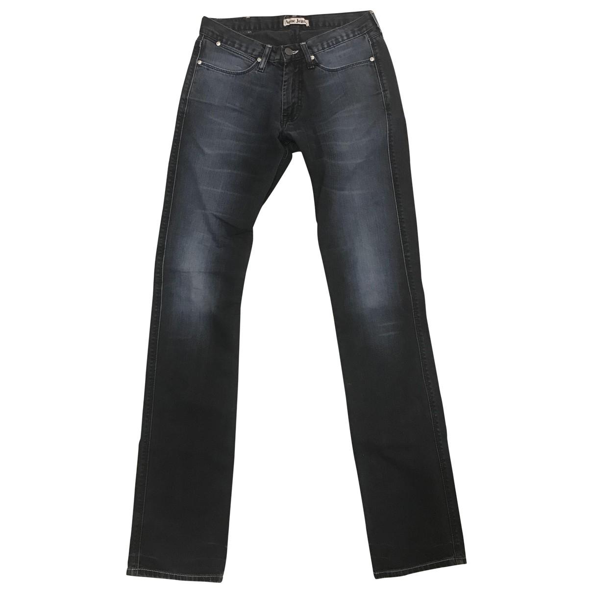 Acne Studios \N Navy Cotton Jeans for Men 30 US