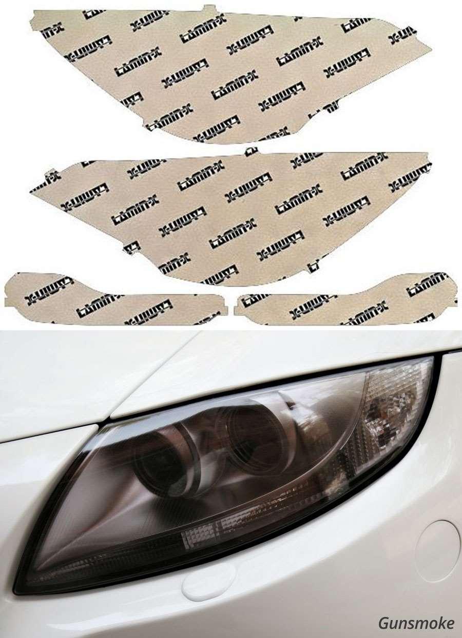 Ford Escape 13-16 Gunsmoke Headlight Covers Lamin-X F041G