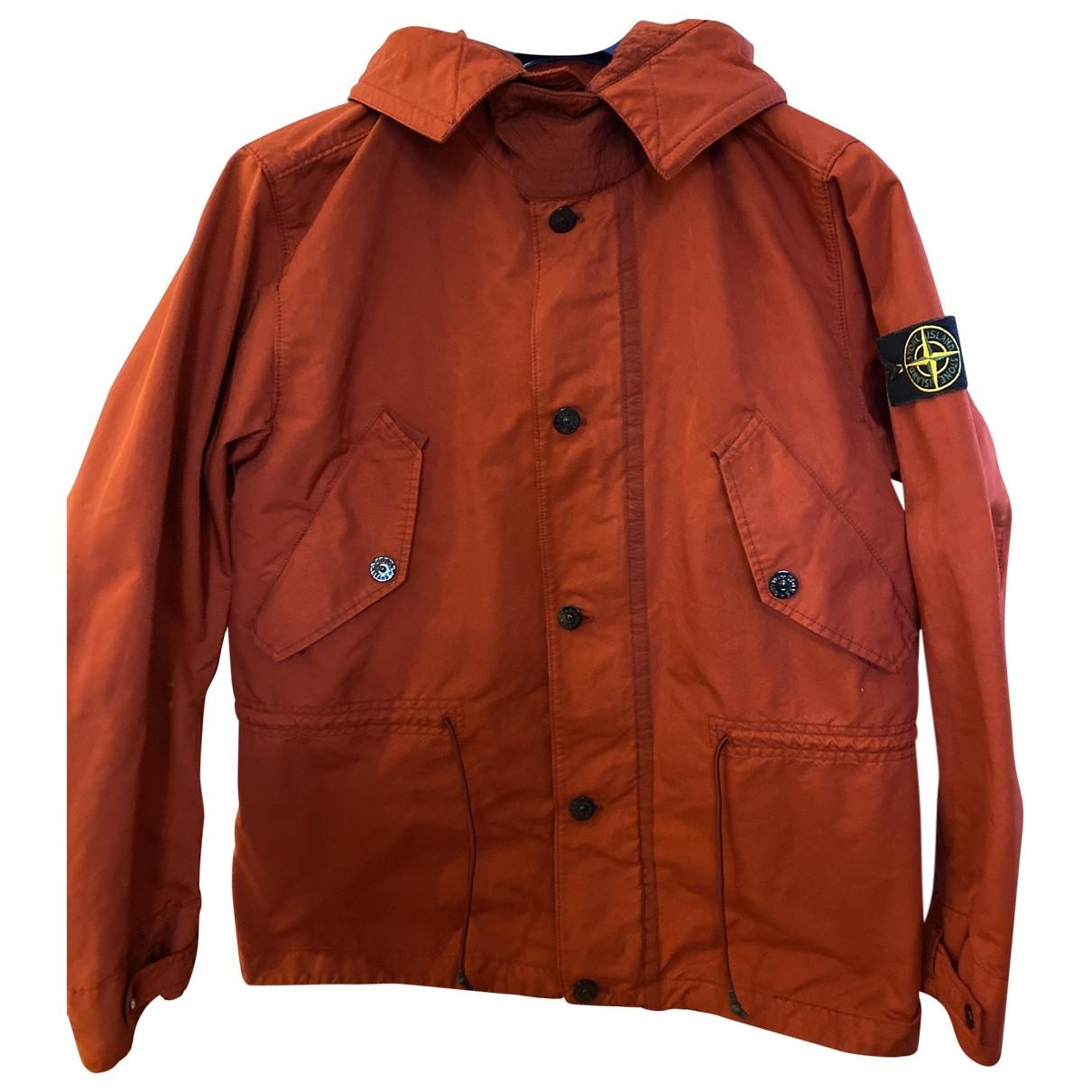 Stone Island \N Orange coat  for Men 40 UK - US