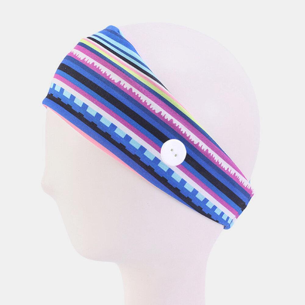 Unisex Outdoor Sports Sweat-absorbent Hairband Yoga Hairband Headband