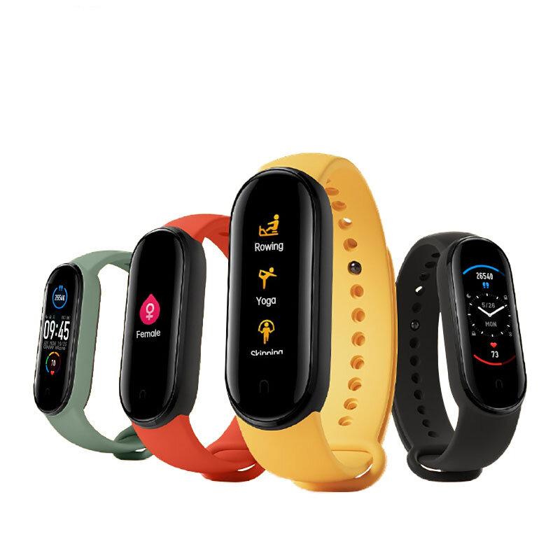 Original Xiaomi Mi band 5 1.1 Inch AMOLED Wristband Customized Watch Face 11 Sport Modes Tracker Activity Monitor Smart