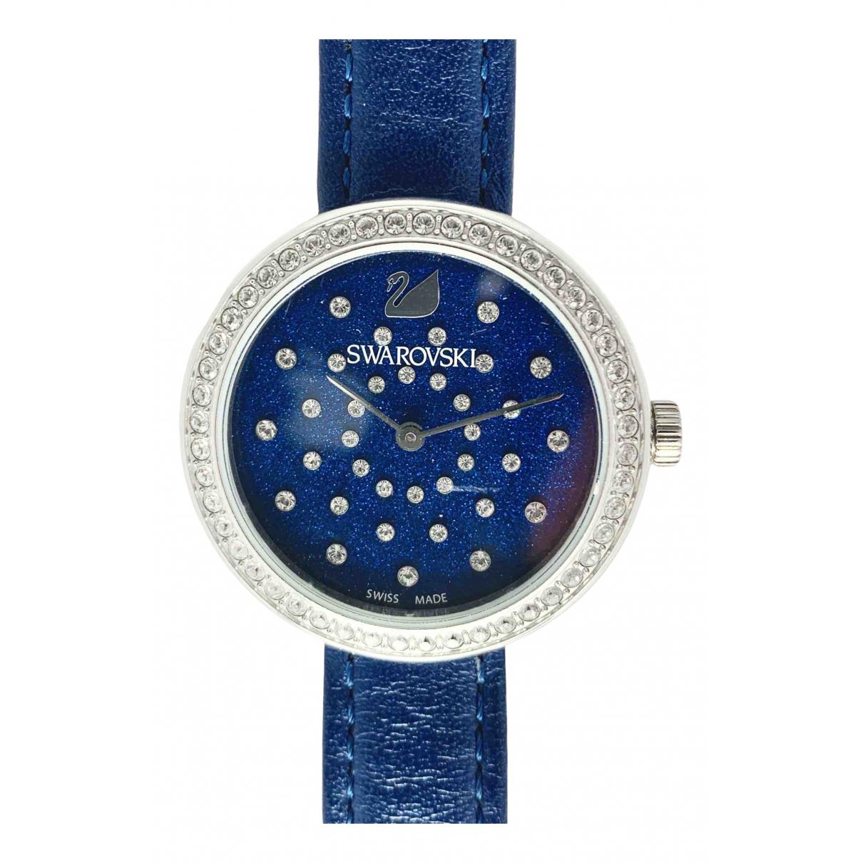 Swarovski \N Silver Steel watch for Women \N
