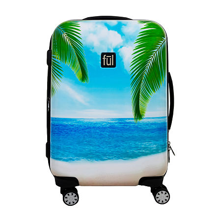 Ful Tropical 21 Inch Hardside Lightweight Luggage, One Size , Multiple Colors