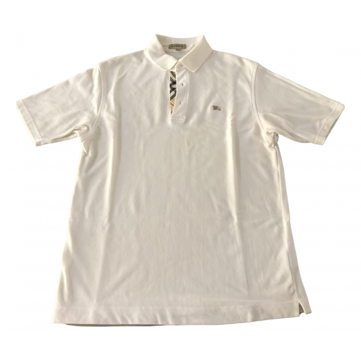 Burberry \N White Cotton  top for Kids 14 years - S UK