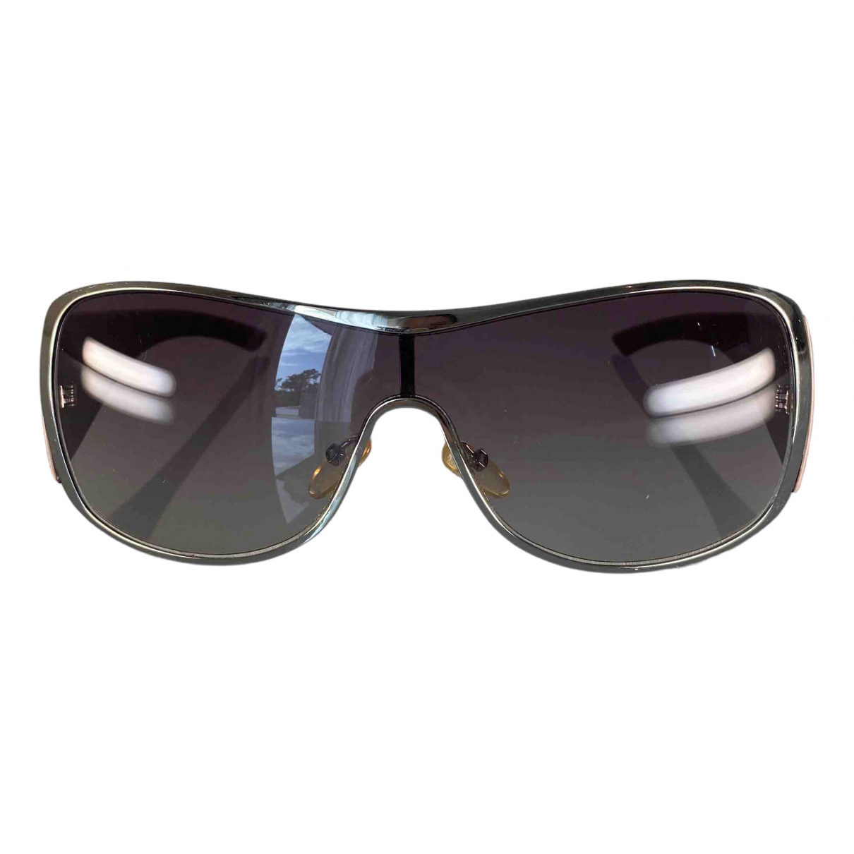 Dior \N Burgundy Sunglasses for Women \N