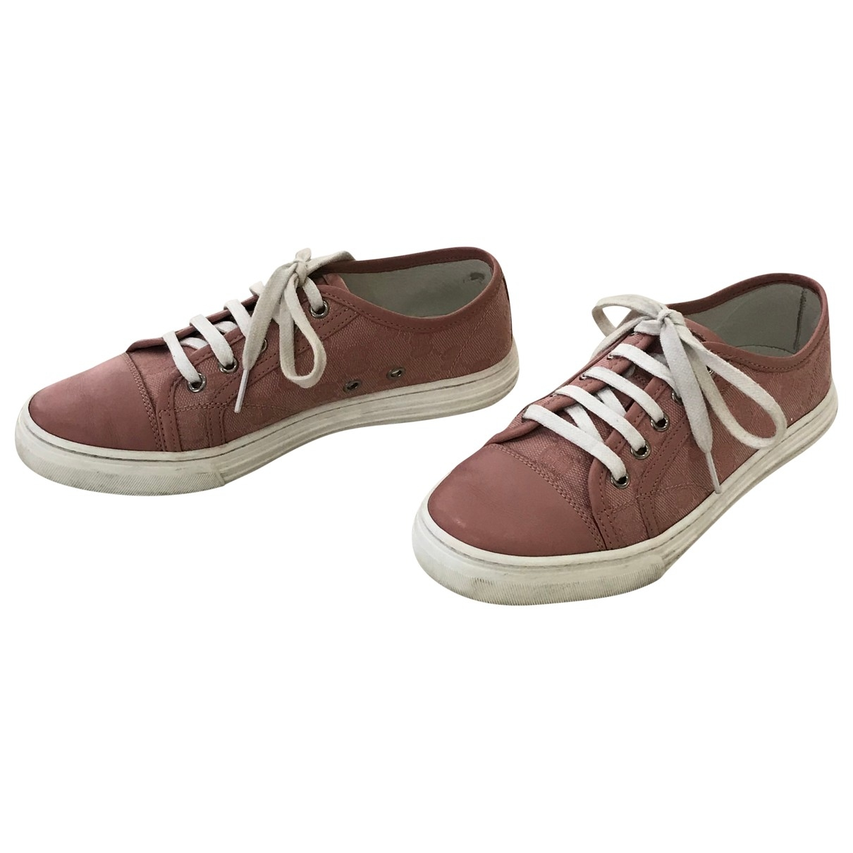 Gucci \N Pink Cloth Trainers for Women 36 EU
