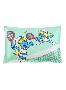 Smurfette Playing Tennis One Piece Cotton Blends Bed Pillowcase