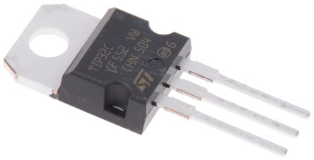 STMicroelectronics TIP32C PNP Transistor, 3 A, 100 V, 3-Pin TO-220 (5)