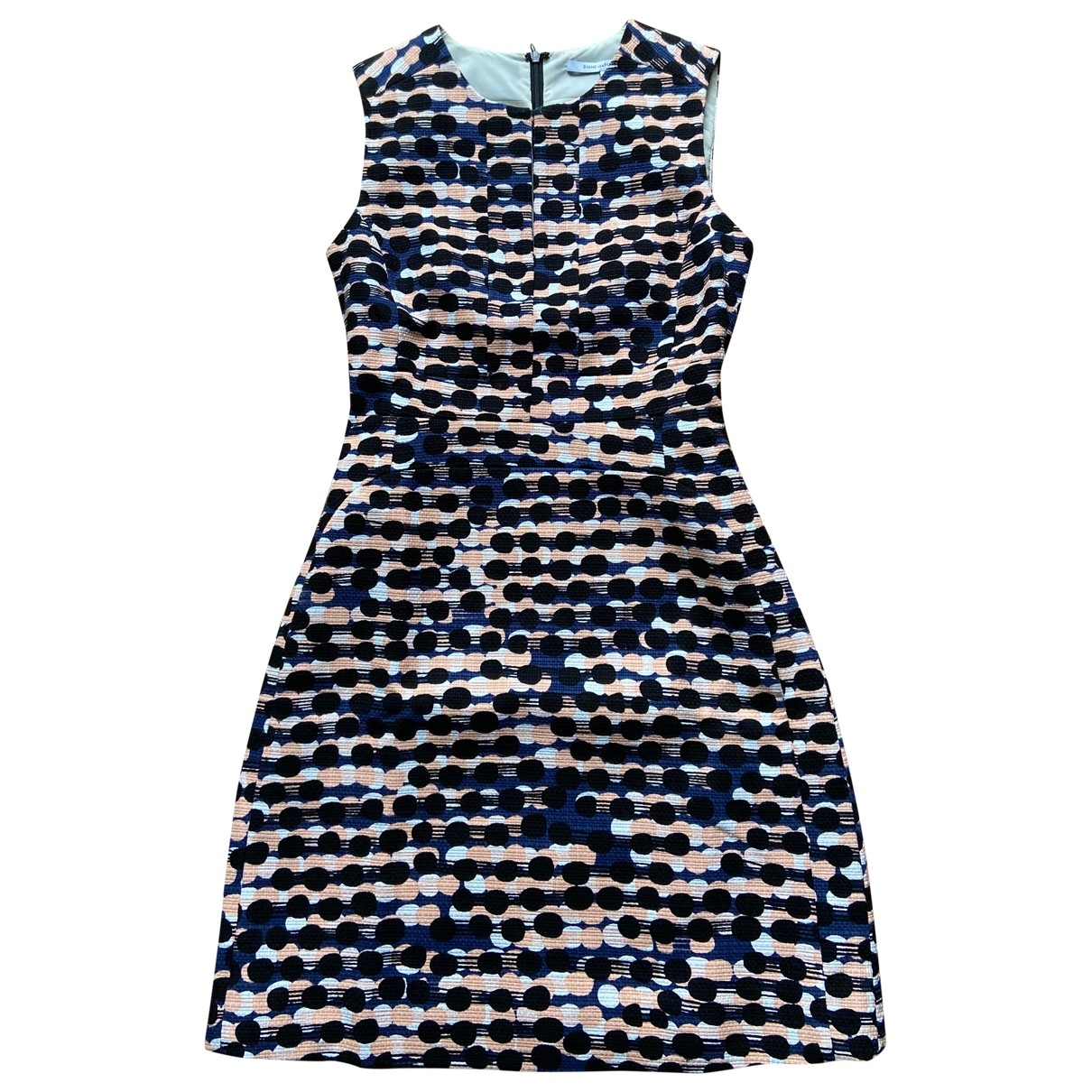 Diane Von Furstenberg \N Multicolour Cotton dress for Women 0 0-5
