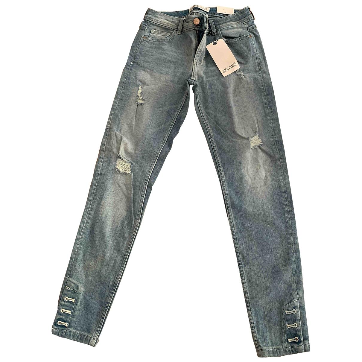 Zara \N Cotton - elasthane Jeans for Women 34 FR