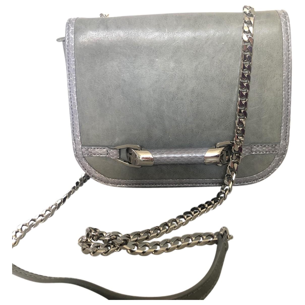 Jimmy Choo \N Grey Leather Clutch bag for Women \N