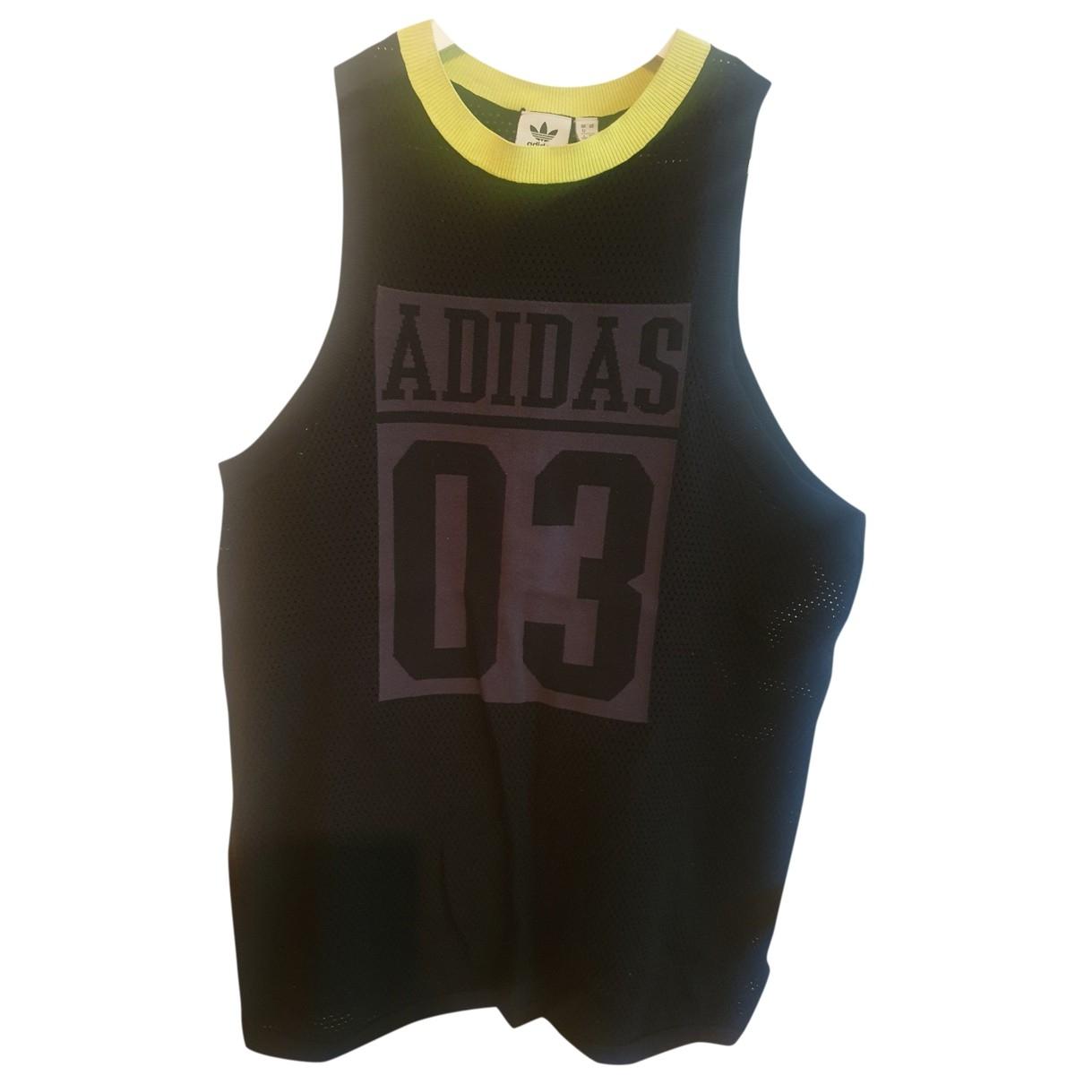 Adidas \N Black Cotton  top for Women 40 FR