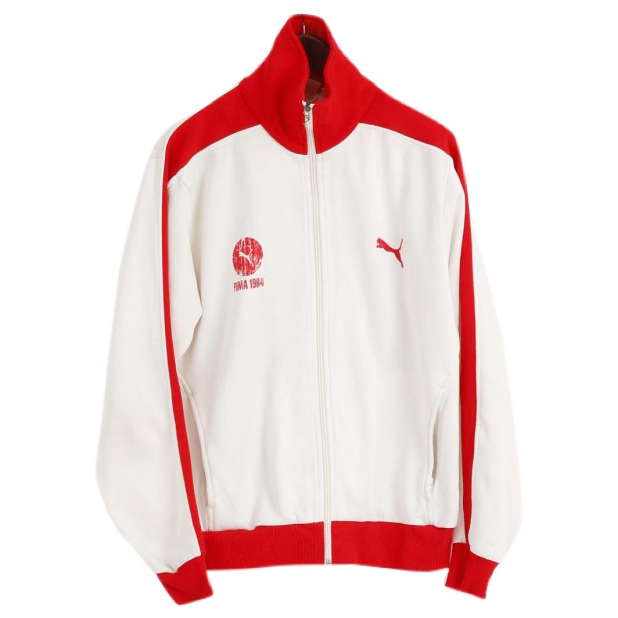 Puma \N White Cotton Knitwear & Sweatshirts for Men XL International