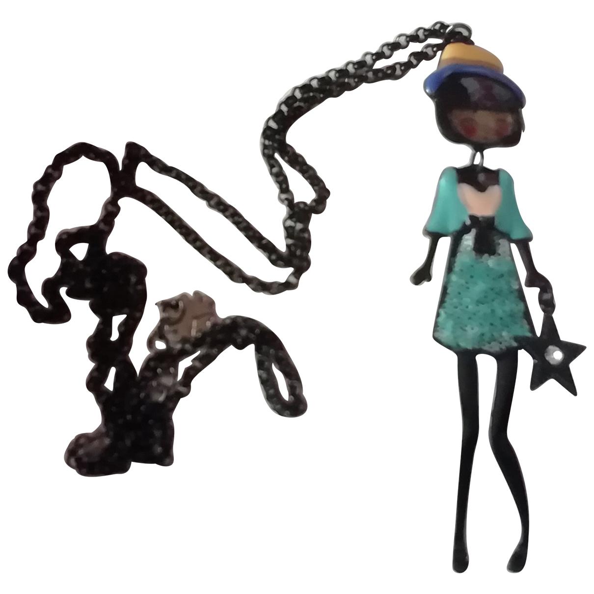 A Détacher \N Green Metal necklace for Women \N