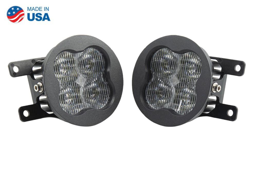 Diode Dynamics DD6177-ss3fog-0125 SS3 LED Fog Light Kit for 2012-2014 Acura TL White SAE/DOT Fog Sport