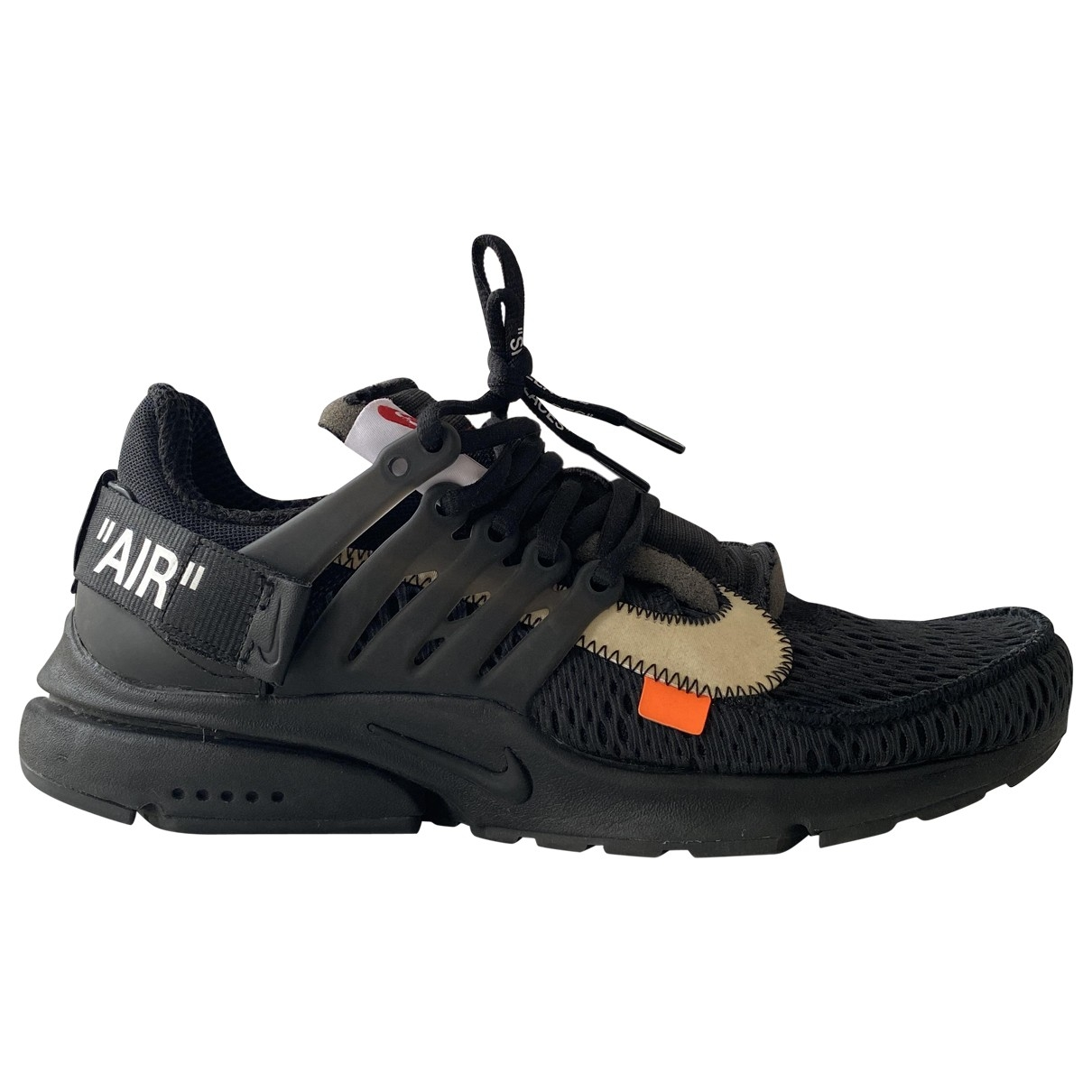Nike X Off-white Air Presto Black Cloth Trainers for Women 7 UK