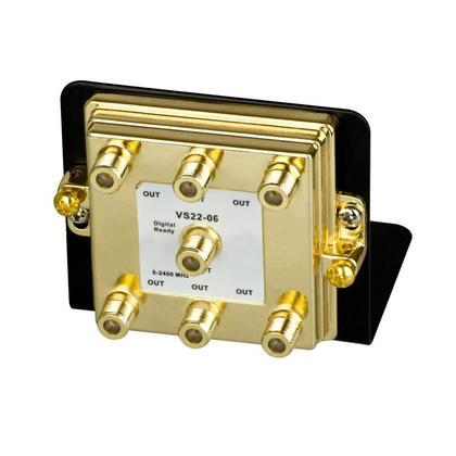 Diviseur 6 voies 2.4GHz sur support de montage - Monoprice®