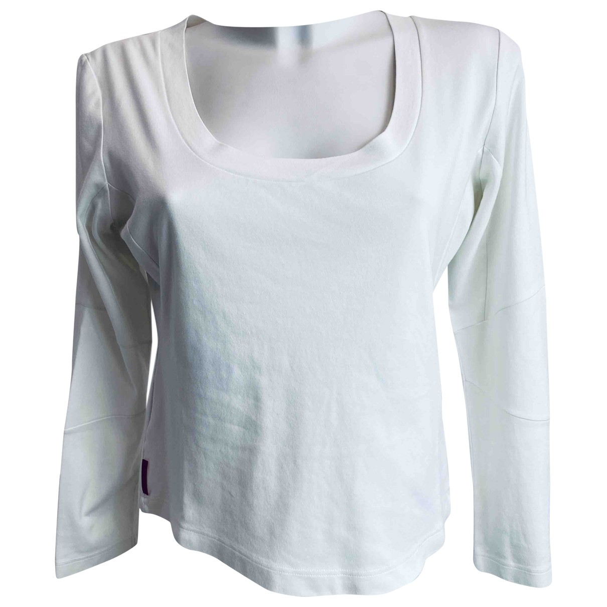 Prada \N White Cotton  top for Women XXL International