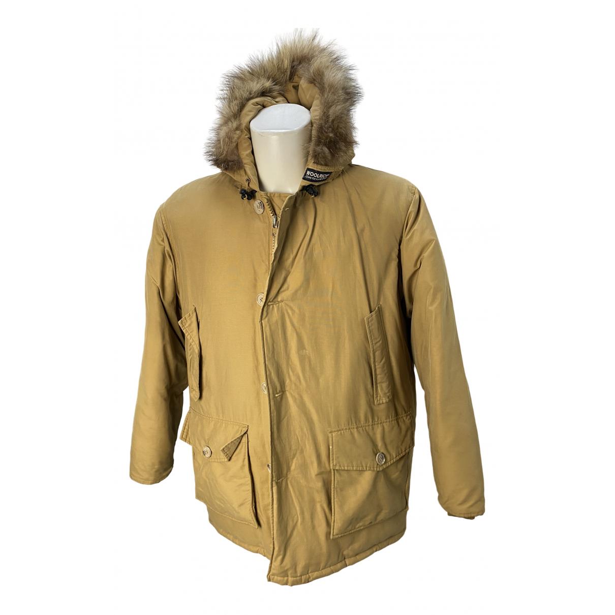 Woolrich \N Beige Fur coat  for Men L International