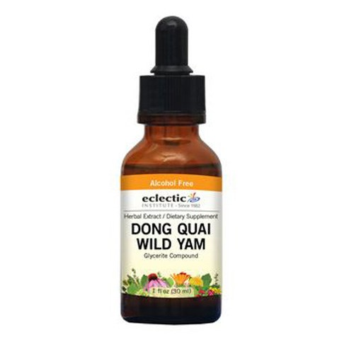 Dong Quai - Wild Yam 1 Oz Alcohol free by Eclectic Institute Inc