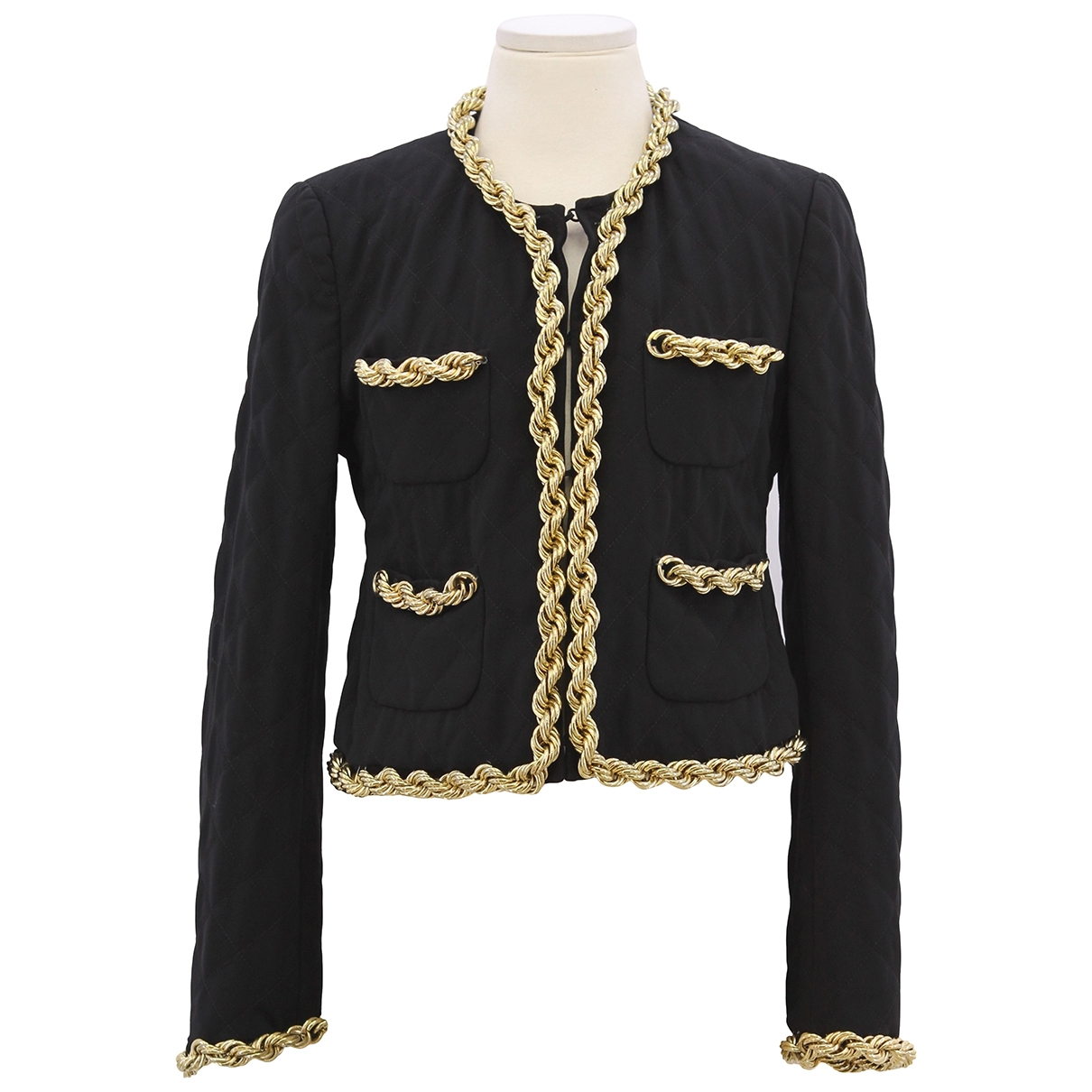 Moschino \N Black jacket for Women 38 IT