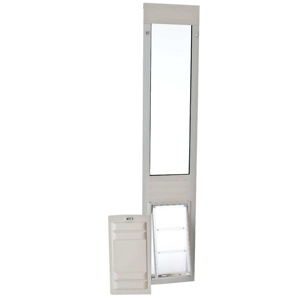 Endura Flap Pet Door - Thermo Panel 3e Satin Frame - Medium (77.25