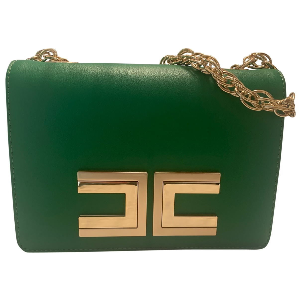 Elisabetta Franchi \N Green handbag for Women \N