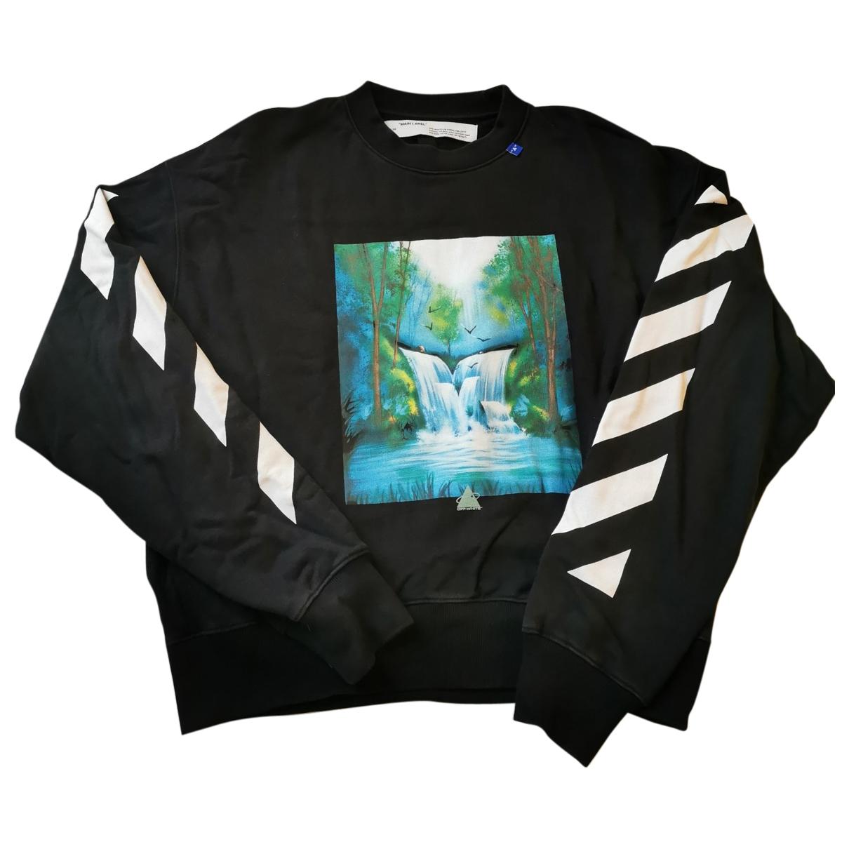 Off-white \N Black Cotton Knitwear & Sweatshirts for Men M International