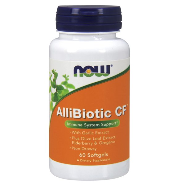 Allibiotic CF 60 Softgels by Now Foods