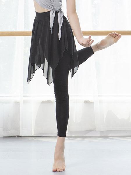 Milanoo Dance Wears Women Latin Performance Legging Pleated Pants Skinny Leg Dancing Costumes Halloween
