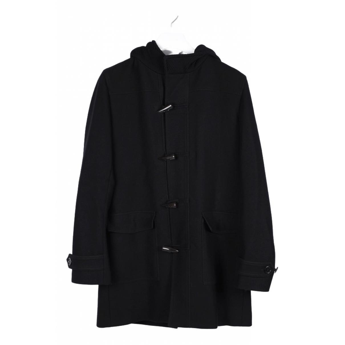 Dior Homme \N Black Wool coat  for Men 50 IT