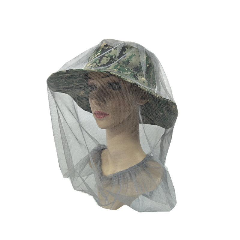 Insect-proof Mosquito Hat Fishing Sun Hat Breathable Shade Net Cover Hat