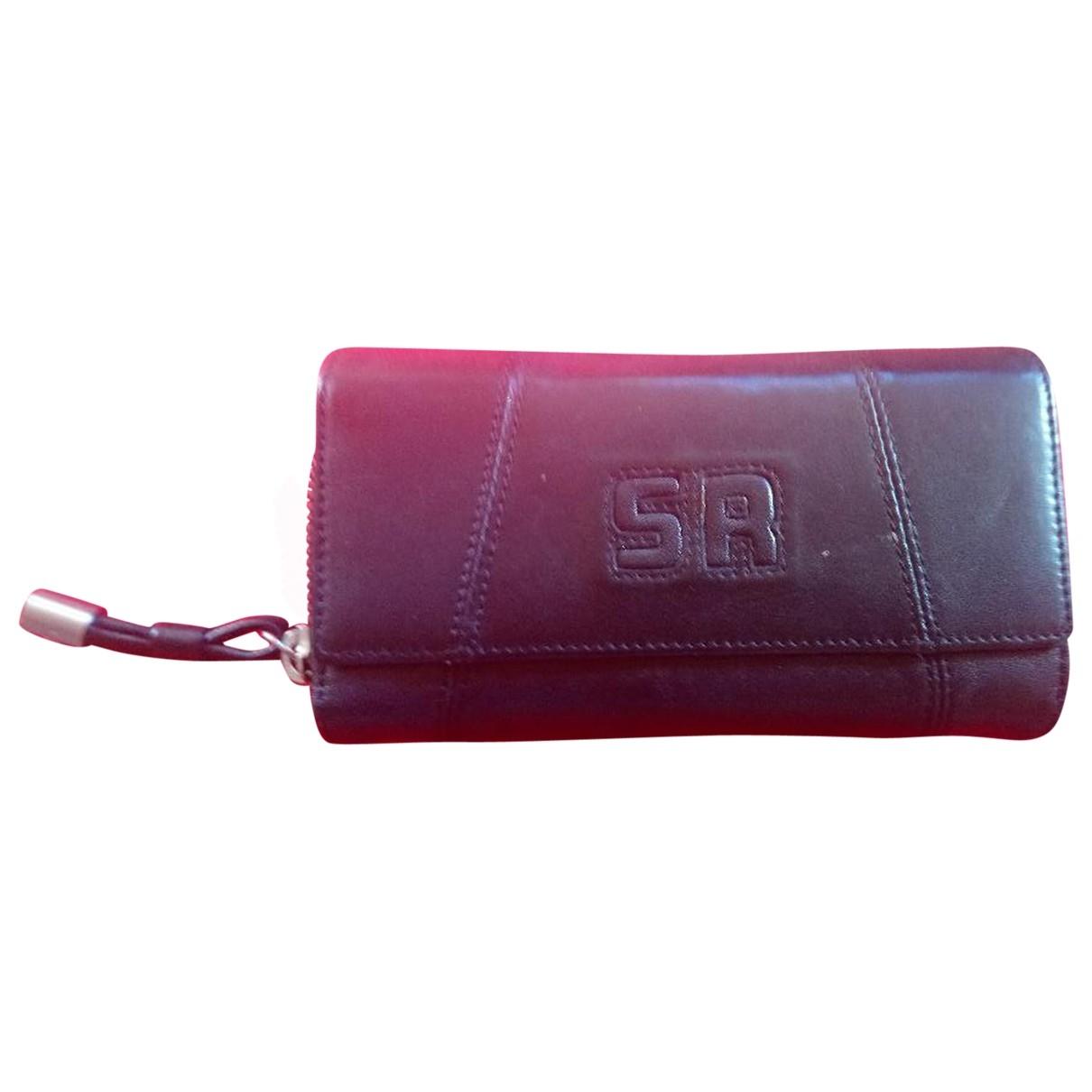 Sonia Rykiel \N Black Leather wallet for Women \N