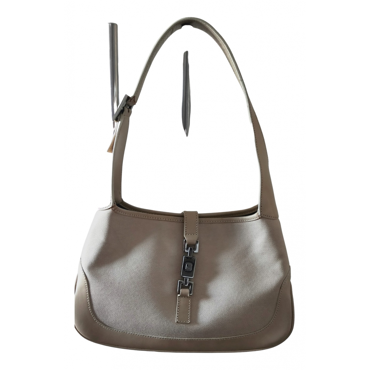 Gucci Jackie Vintage  Beige Cotton handbag for Women \N