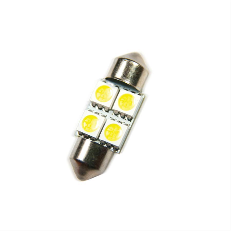 Oracle Lighting 5202-003 ORACLE 33MM 4 LED Festoon Bulbs (Pair) - Red