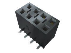 Samtec , SSM 2.54mm Pitch 32 Way 2 Row Vertical PCB Socket, Surface Mount, Solder Termination (14)