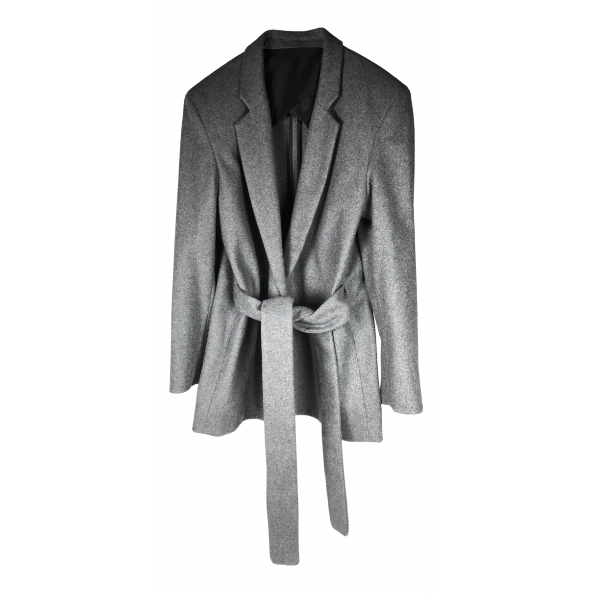 Acne Studios \N Grey Wool jacket for Women 38 FR