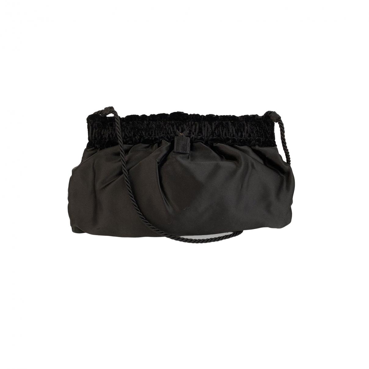 Fendi \N Black Velvet Clutch bag for Women \N