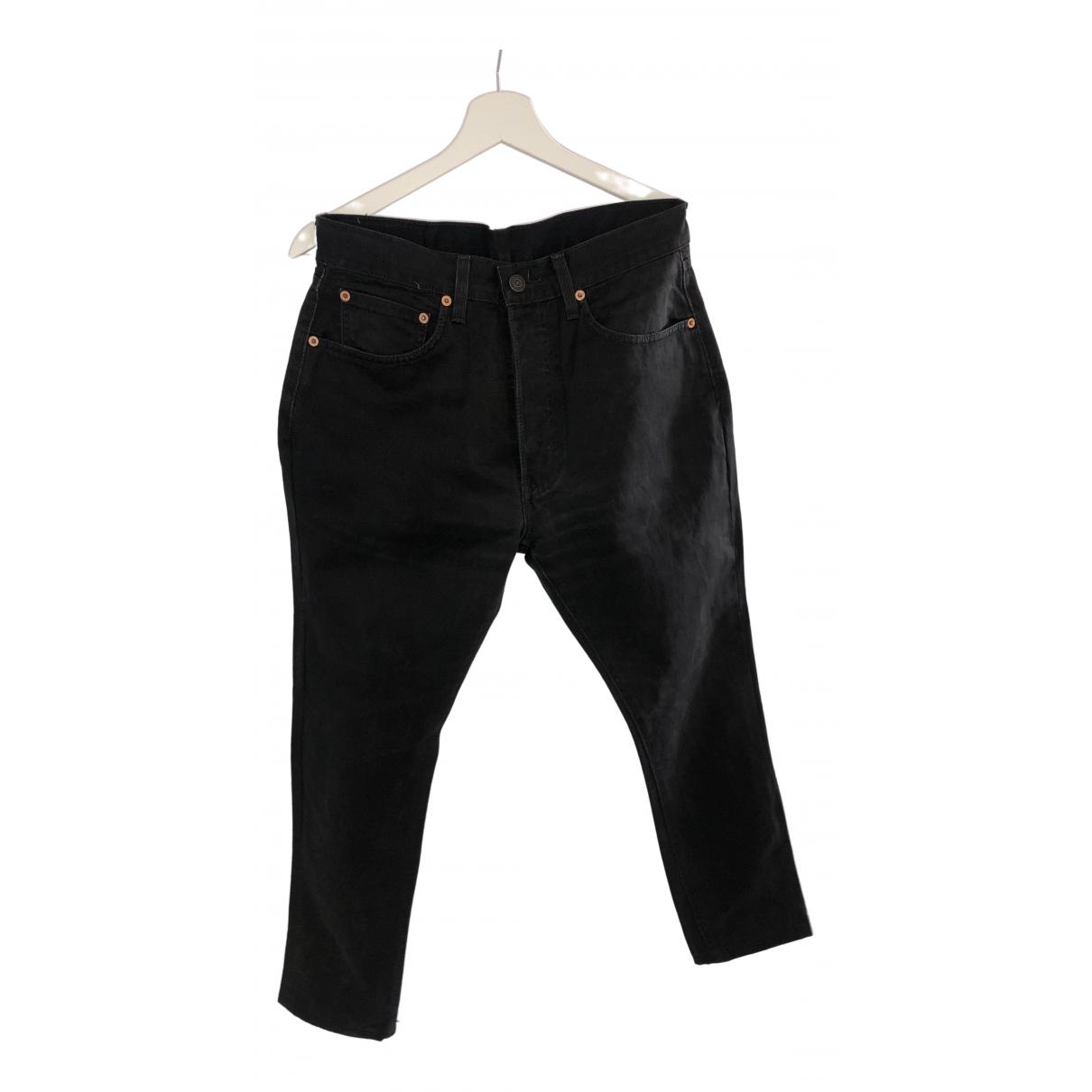 Levi's Vintage Clothing \N Black Cotton Jeans for Men 31 US