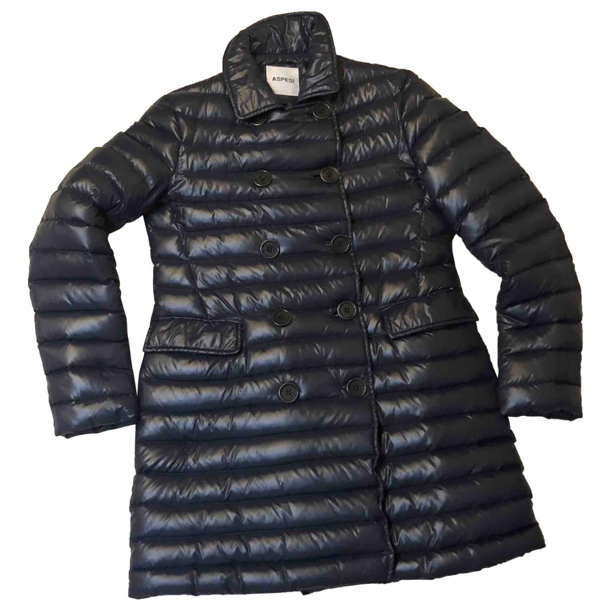 Aspesi \N Blue coat for Women 38 IT