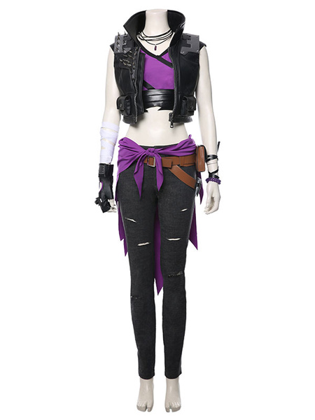 Milanoo Borderlands 3 Amara Cosplay Costume Halloween