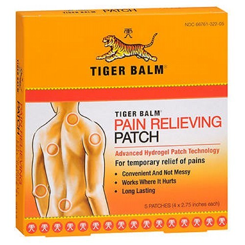 Tiger Balm Pain Relieving Patch 5 Each by Tiger Balm