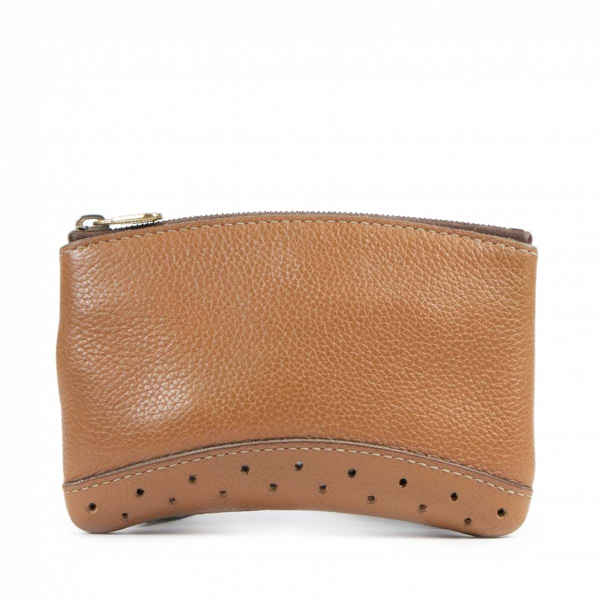 Delvaux \N Brown Leather Clutch bag for Women \N