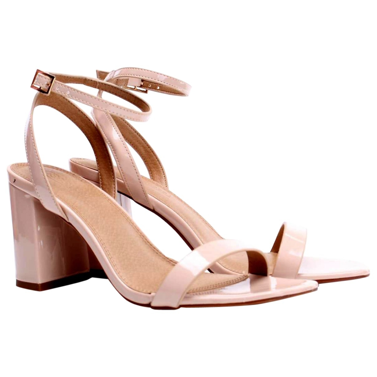 Asos \N Pink Leather Sandals for Women 4.5 UK