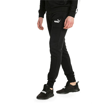 Puma Mens Regular Fit Jogger Pant - Big and Tall, 4x-large , Black