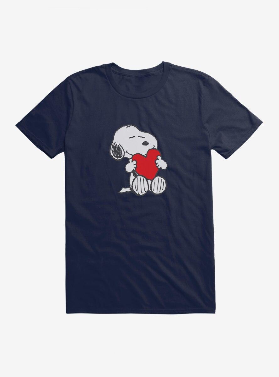 Peanuts Snoopy Valentine Heart T-Shirt